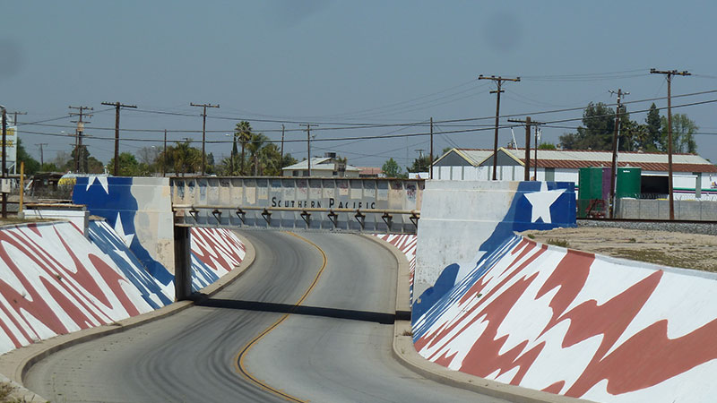 Delano, California underpass
